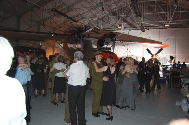 Dancing at the Fabulous Cosford Dance last year