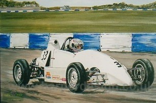 Formula Ford painting